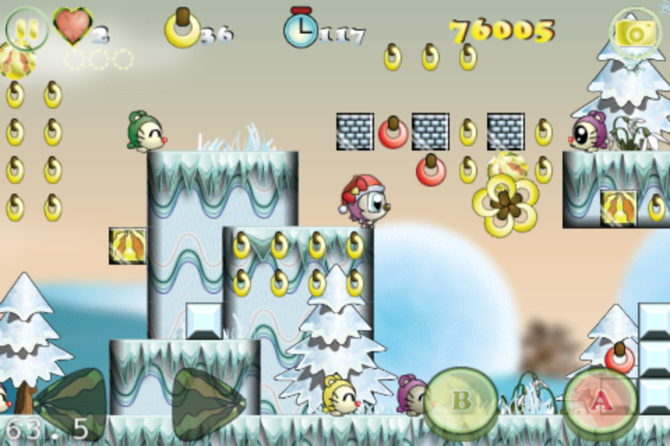 Screenshot Monko Quest – X'mas