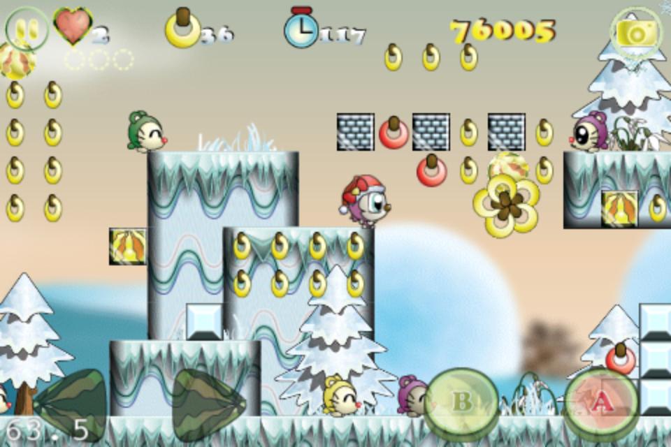 Screenshot Monko Quest – X'mas
