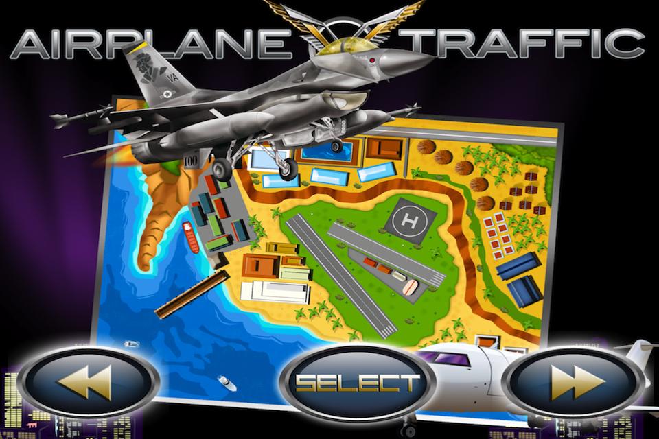 Screenshot Airplane Traffic