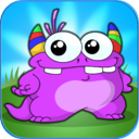 Monster Coloring Book - All in 1 draw , paint and color games HD mobile app icon
